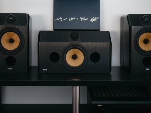 B&W 5.1 Sound System