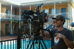 On location in Coffs Harbour NSW