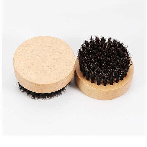 Round Handheld Beard Brush