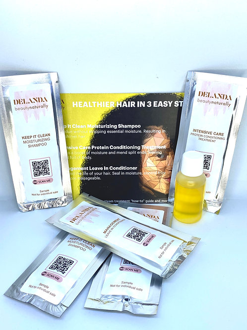 Wash Day Trio Sample Package