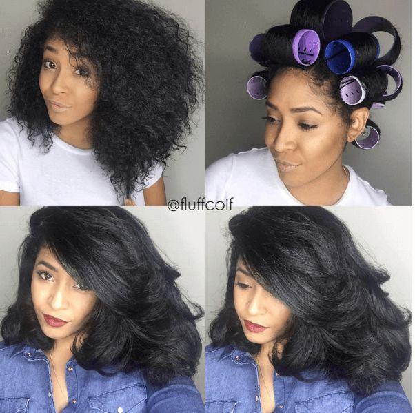 Noheatnovember Natural Hair Roller Set