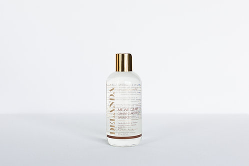 ARE WE CLEAR? GENTLE CLEANSING SHAMPOO
