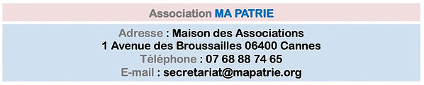 Ma Patrie adresse 042021