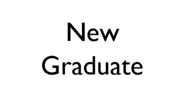 New Graduate Annual Membership