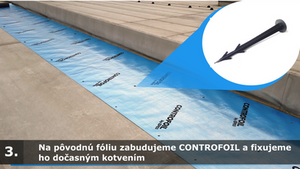 CONTROFOIL - oprava strechy