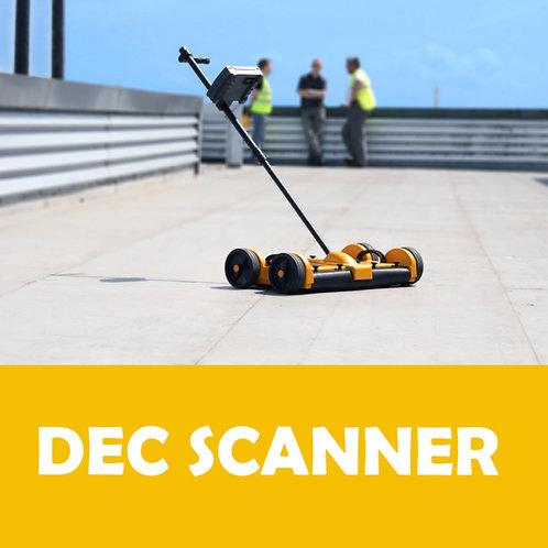 Pojazdný impedančný vlhkomer DEC SCANNER. Cena na vyžiadanie.