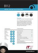 ITW B112 Data Sheet