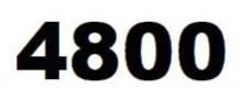 ZEBRA 4800