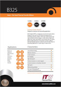 ITW B325 Data Sheet