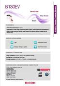 RICOH B130EV Data Sheet