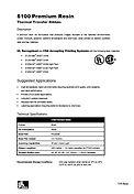ZEBRA 5100 Data Sheet
