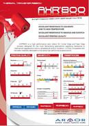 AXR 800 Data Sheet