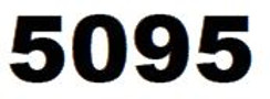 ZEBRA 5095