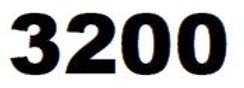ZEBRA 3200