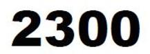 ZEBRA 2300