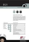 ITW B121 Data Sheet
