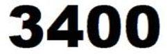 ZEBRA 3400