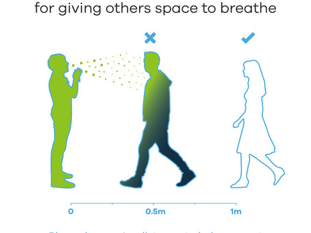 Thank You for Giving Others Space to Breathe