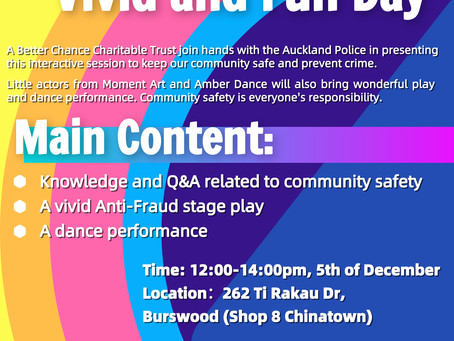 Safe Community Vivid and Fun Day
