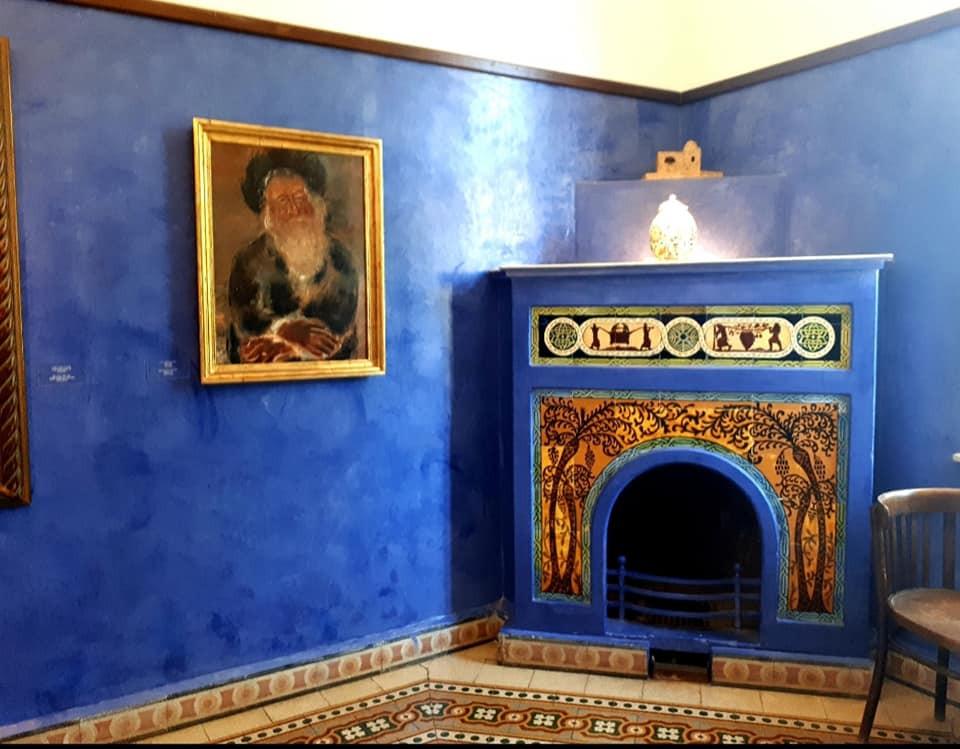 החדר הכחול בבית ביאליק