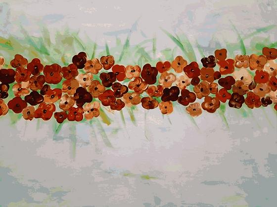 פריחה אביבית בחום
