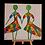 רקדניות צבעוניות מיניאטורה