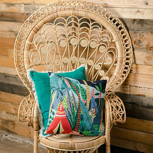 jungle design cushion
