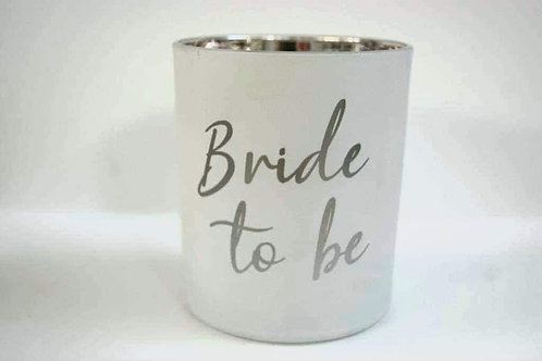 'bride to be' Candle