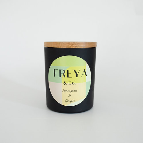 Freya & Co Lemongrass and Ginger Candle