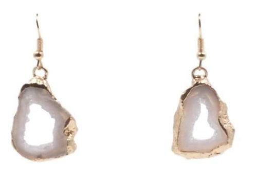 Agate Collection Chiffon Drop Earrings