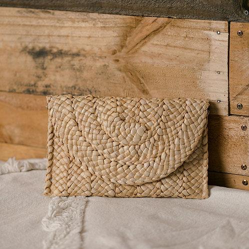 Woven Clutch Purse