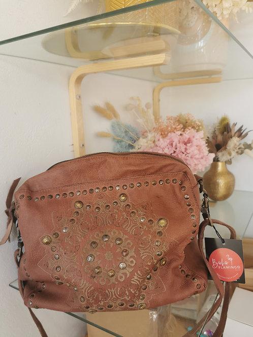 Dark Brown Boho Handbag