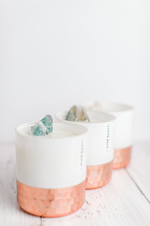 Crystal Candle Lux Trio