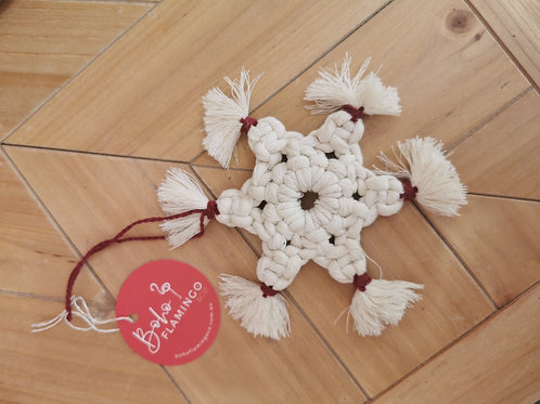 Boho Snowflake Christmas Decor
