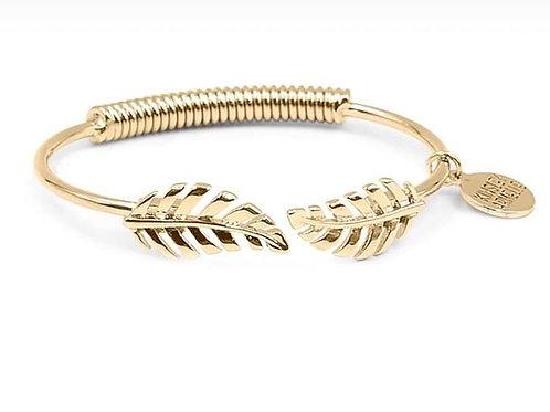 Goddess Collection Laurel Leaf Bracelet