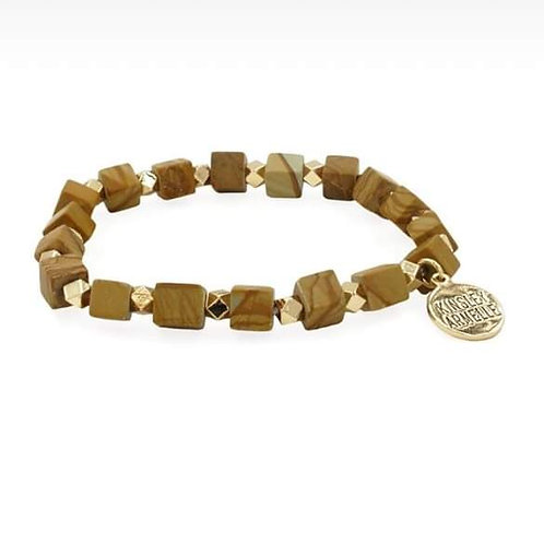 Rubik Collection Jasper Bracelet