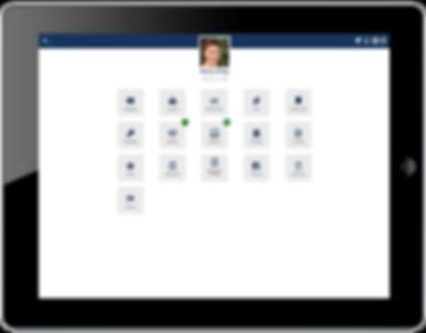 Rubitek Core branded version on mobile tablet