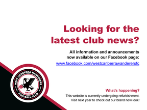 See Facebook for the latest news!