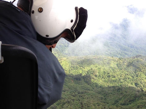 HeliScope PNG in Papua New Guinea for CGG Aviation