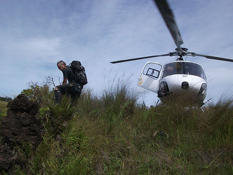 HeliScope PNG in Papua New Guinea for Victoria University of Wellington Geological Research Project