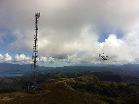 HeliScope PNG in Papua New Guinea  Digicel Telecommunications Project
