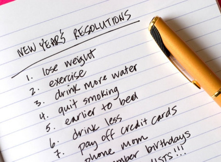 No more New Year's Resolutions: Develop Habits instead!