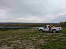 solar panels-aim truck