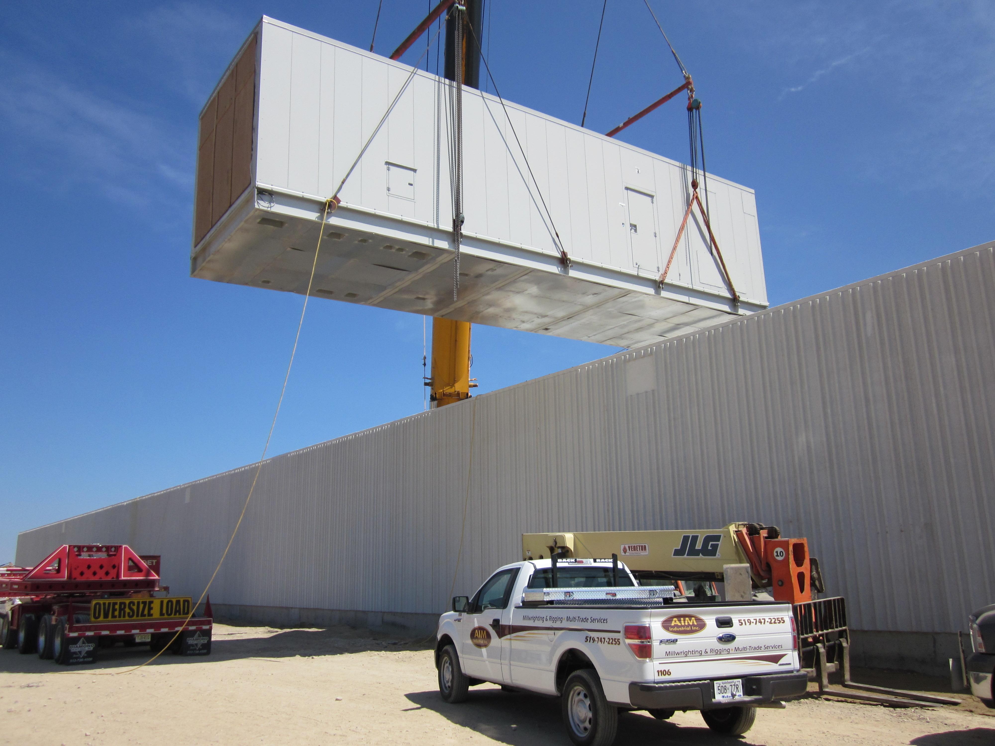 Heavy Riggign - Crane Work