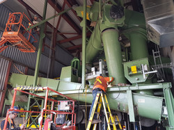 millwright-hoppers and screw