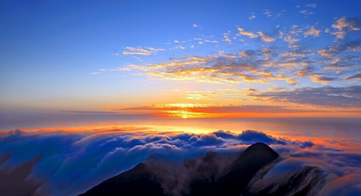 Sunrise and clouds