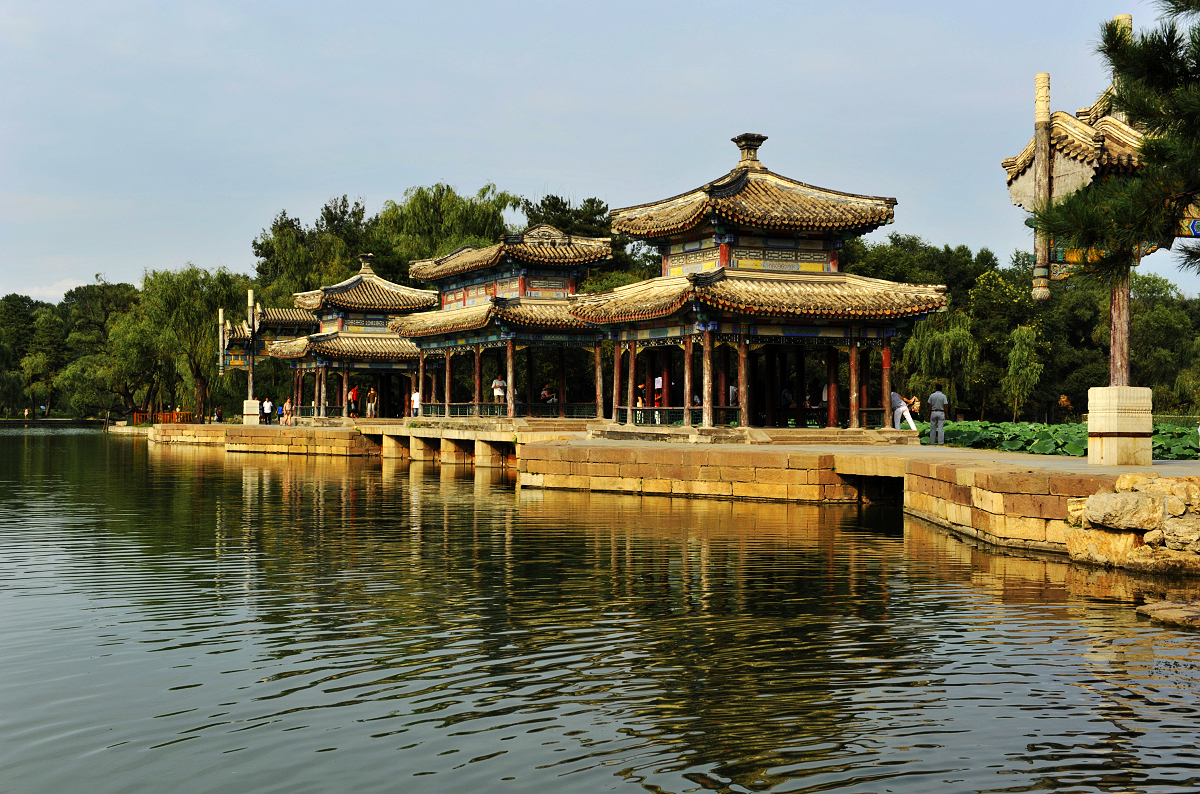 Ancient pavilions