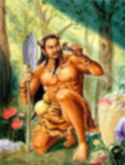 Shen Nong the Chinese God of agriculture herbs