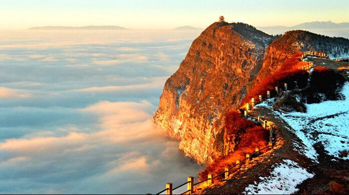 Mount Emei in the Clouds