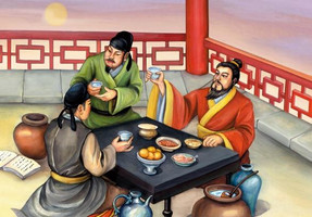 Toasting manner in Tradition of China
